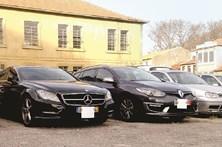Meio milhão em carros furtados
