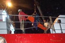 Pescador foi atingido por cabo