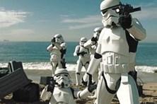 'Stormtroopers' fazem 'Desafio do manequim'