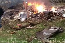 Quatro mortos em queda de avioneta com destino a Cascais