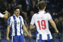 FC Porto goleia Leicester e está nos 'oitavos' da Liga dos Campeões