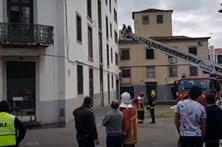 Incêndio no Funchal assusta população