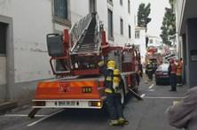 Incêndio no Funchal destrói prédio devoluto