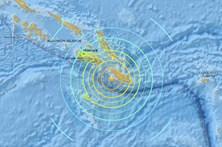 Sismo de magnitude 7,8 nas Ilhas Salomão