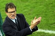 Fabio Capello cobrou 70 mil euros por jogos de beneficiência