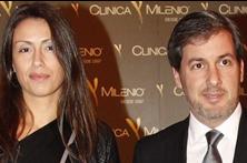 Bruno de Carvalho namora  em festa de clínica
