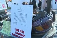 Protesto dos empresários de diversão em Coimbra
