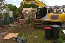 Casa demolida por erro na numeração