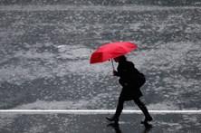 Chuva regressa na quarta-feira. Temperatura sobe ligeiramente