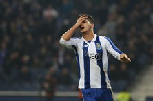 André Silva causa alarme na frente do FC Porto