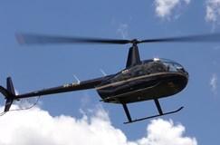 Helicóptero que caiu com noiva voou com Pai Natal horas antes