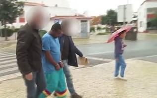 Refugiado na cadeia por violar sem-abrigo