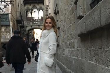 Cristina Ferreira passeia por Barcelona