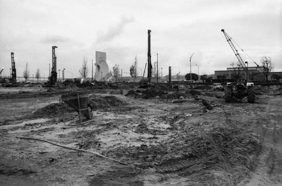 Recorde as obras de construção do Centro Cultural de Belém