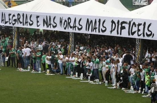 Chapecoense declarada campeã da Taça Sul-Americana