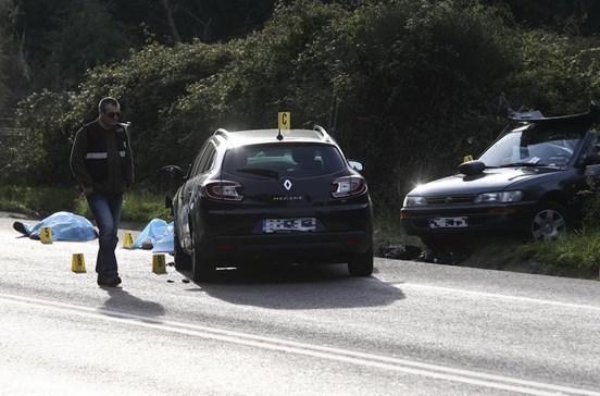 Três mortos em acidente no IC2