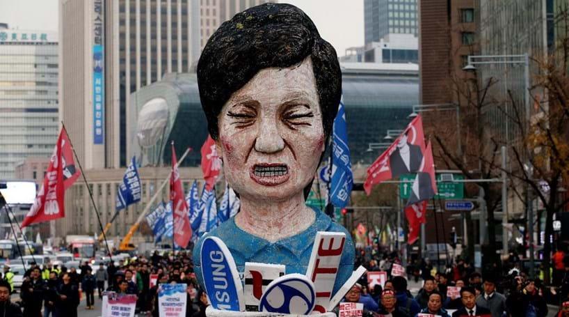 Coreia do Sul propõe saída da Presidente em abril