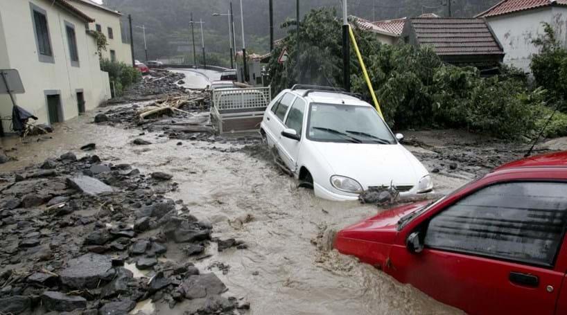 Aviso de mau tempo na Madeira até domingo