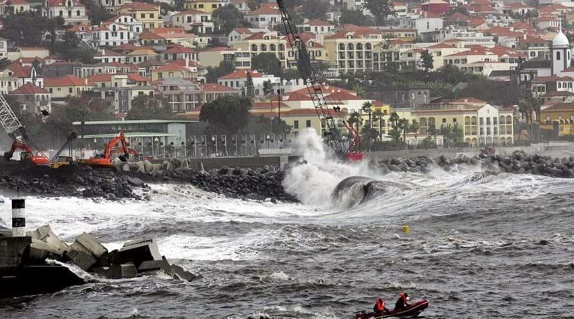 Madeira sob 'Aviso Laranja'