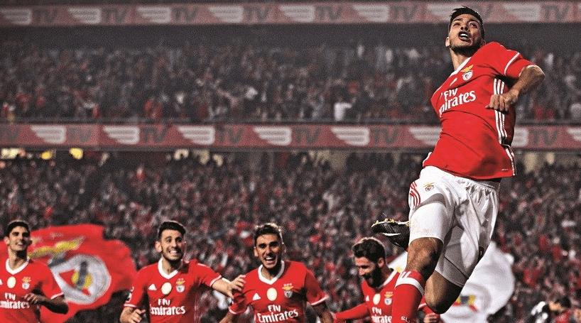 Benfica vence Sporting na Luz e reforça liderança