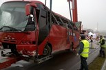 Quatro portugueses mortos em acidente de autocarro