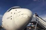 Avião moçambicano choca com drone em pleno voo