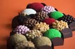 Brigadeiros com chocolate belga