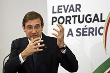 Passos Coelho felicita portugueses por notícia de Bruxelas