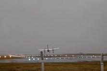 Aterragem com vento forte assusta nos Açores