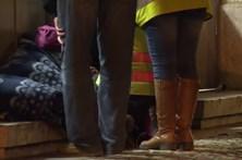 Apoio aos sem-abrigo na vaga de frio