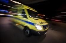 Três feridos em acidente na A28