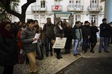 Docentes do ensino artístico manifestaram-se junto do Ministério da Educação