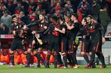 As melhores imagens do Benfica-Leixões