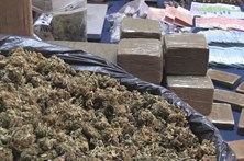 PSP de Leiria apreendeu mais de 12 quilos de droga em 2016