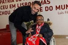 Jogadores do Benfica ajudam a cumprir mais um sonho