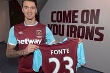 José Fonte assina pelo West Ham