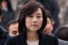 Ministra da cultura da Coreia do Sul detida por escândalo de corrupção