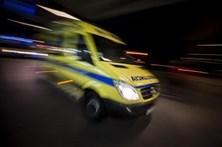 Um morto e um ferido em colisão na A7