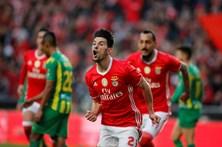 As melhores imagens do Benfica-Tondela