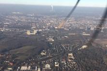 Avião do Borussia Dortmund falha várias aterragens