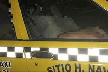 Sete corpos mutilados encontrados dentro de táxi