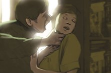 Agarrar o pescoço não  é violência doméstica