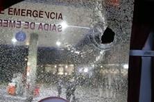 Autocarros de seguranças atacados a tiro após jogo do Braga-Guimarães
