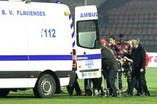 Jogador cai inanimado durante Chaves-Nacional