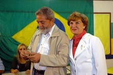 Mulher de Lula da Silva sofre AVC