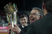 As imagens da Final da Taça da Liga