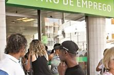 Número de desempregados inscritos nos centros de emprego baixa 16,3% em setembro