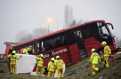 Vítimas de acidente em França recuperam