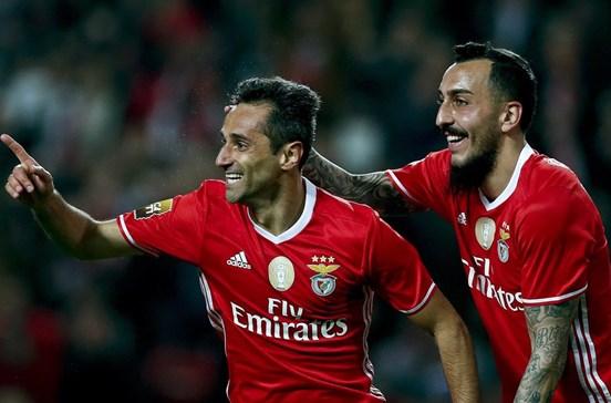 Jonas falha visita ao Sporting de Braga