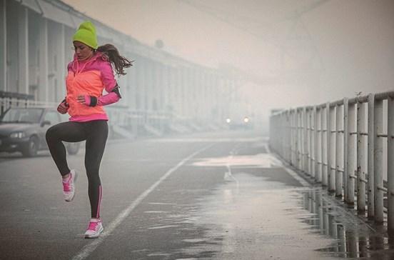 Correr com gripe